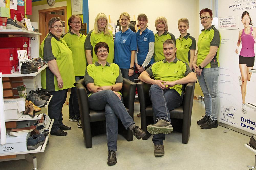 Orthopädie Dreher Schuh und Technik GmbH – Team
