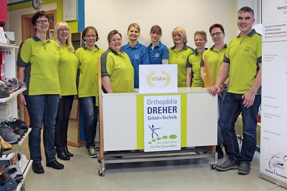 Orthopädie Dreher in Hamm – Team